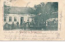 Ak, Ansichtskarte, Gasthof zu Reichenhain, 1912 (G)19647