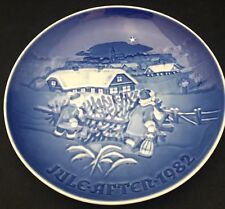 1982 Bing & Grondahl Christmas Plate - The Christmas Tree