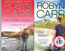 Complete Set Series - Lot of 9 Thunder Point books by Robyn Carr (Romance)