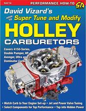 David Vizard's How to Super Tune and Modify Holley Carburetors Book~NEW