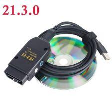 Interface HEX CAN USB VAG COM 21.3 VAGCOM 20.12 VCDS pour VW AUDI Skoda Seat VAG