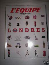 L'EQUIPE MAG 30 JUIN 2007 SPECIAL LONDRES / JEUX OLYMPIQUES 2012