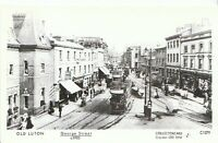 Bedfordshire Postcard - Old Luton - George Street c1905   A1755
