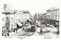Bedfordshire Postcard - Old Luton - George Street c1905   A1755