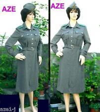 Größe 44 DDR Berlin Paßkontrolle NVA Grenztruppe Uniform Dame Frauen Kleid Mütze
