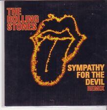 "ROLLING STONES ""Sympathy for the Devil - Remix"" 2 Track Cardsleeve CD"