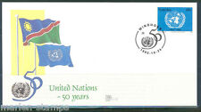Namibia 50th Anniversary Of The United Nations First Day Cover