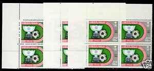 Saudi Arabia 942-4 TL Block MNH Sports, Soccer