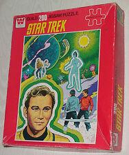 STAR TREK VINTAGE 200 PIECE GUILD JIGSAW PUZZLE 1978