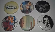 6 True Romance Pin Button Badges 25mm You're so cool