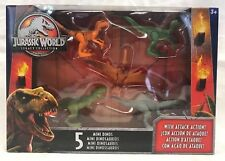 JURASSIC WORLD LEGACY COLLECTION ATTACK ACTION MINI DINO 5 PACK SET SPINOSAURUS