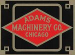 Adams Machinery Company