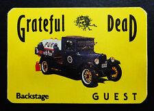 Grateful Dead Backstage Pass 1985 Vintage Milk Truck Classic Car Auto Automobile