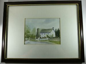 A Stunning Art Picture Watercolour by J. Colley Florence Framed Signed Original
