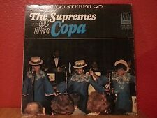 THE SUPREMES at the copa LP VG MT 636 Vinyl 1965 Record