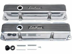 For 1971-1974 Dodge B200 Van Engine Valve Cover Set Edelbrock 35858DZ 1972 1973