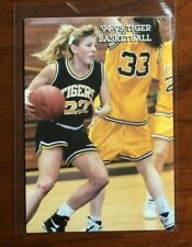 1994 - 95 Towson Tigers Women Collage Basketball Pocket Schedule