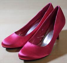 NIMEISI Pink Pumps, High Heels, Satinfinish, Gr. 40, NEU & OVP