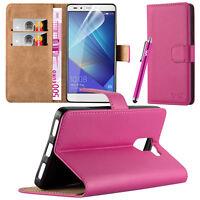 Cartera Tipo Libro [Base Vista] Funda Para Alcatel & Huawei De móviles Phones