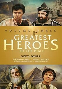 GREATEST HEROES OF THE BIBLE: VOLUME THREE / NEW DVD
