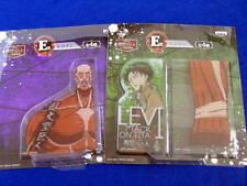 NEW! LIMITED Attack On Titan RULER LEVI 2 SET Shingeki no Kyojin Prize E Japan