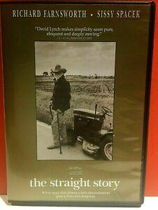 The Straight Story DVD David Lynch Richard Farnsworth Sissy Spacek.  Region 1