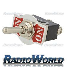 Heavy Duty Toggle Flick Switch 12V ON/ON Car Dash Light Metal 12 Volt SPDT