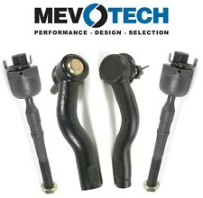 For Ford Lincoln Mazda Mercury Front Inner & Outer Tie Rod Ends Kit Mevotech