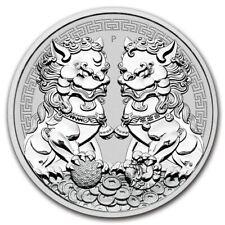 AUSTRALIE 1 Dollar Argent 1 Once Lions Double Pixiu 2020