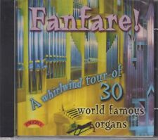 "Fanfare! ""30 World Famous Organs"" NEW & SEALED CD 1st Class Post From The UK"
