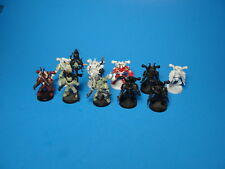 GW Warhammer 40K Chaos Space Marines x11 Misc Condition Plastic