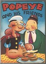 Popeye and His Friends #2114 1937-EC Segar art-includes dust jacket-VG-