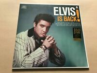 elvis is back elvis presley 2013 waxtime pressing sealed new mint