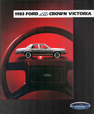 FORD LTD Crown Victoria & country squire 1983 USA marché la brochure commerciale