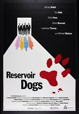 RESERVOIR DOGS ✯ CineMasterpieces ORIGINAL MOVIE POSTER CANNES FILM FESTIVAL '92