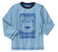 Gymboree Baby Boys Grr Bear Long Sleeved Tee, Size 6-12 Months Retail $16.95