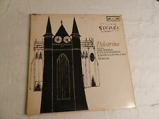 PALESTRINA -TWO MASSES  1964 L'OISEAU-LYRE STEREO LP ENGLISH PRESSING  LONDON