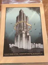 Jay Ryan My Morning Jacket MMJ poster print Minneapolis Orpheum 2008 Mint
