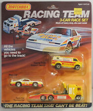 DTE 3 PC 1985 MATCHBOX CONVOY & SUPERFAST PEPSI CHALLENGER RACE CAR GIFT SET
