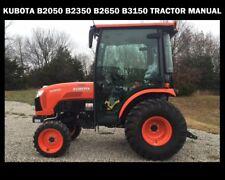 Kubota B2050 B2350 B2650 B3150 Service Manual 510pg with Tractor Workshop Repair