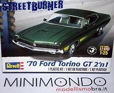 KIT 1970 FORD TORINO GT 2 IN 1 1/25 REVELL MONOGRAM 4099