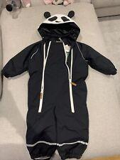 Mini Rodini Panda Snowsuit Size 86 (1-1.5)