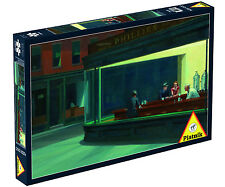 Piatnik Edward Hopper - Nighthawks Jigsaw Puzzle (1000 Pieces) - Brand New