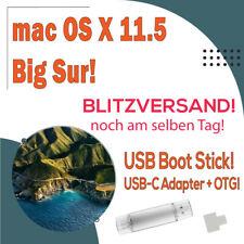 mac OS X 11.5 Big Sur 16GB USB-A + USB-C Boot Stick! Blitzversand!