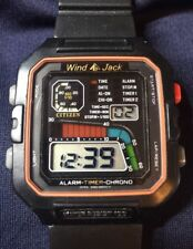 Vintage CITIZEN D060 Windsurfer Alarm-Timer-Chrono Men'sWatch Good Working Order