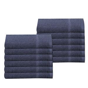 2 X 100/% Cotton 450 GSM Horseshoe Border Bathroom Hand Towels Set Pack Of 2