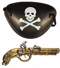 PIRATA Highwayman BUCCANEER MOSCHETTIERE Musket GUN PISTOLA FANCY DRESS Flintlock e