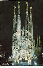 BF26243 barcelona templo expiatorio de la sagrada fami spain front/back image