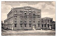 1911 Woolen Mills, Yale, MI Postcard *5L4