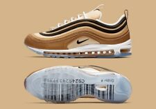 """Nike Air Max 97 """"BARCODE"""" Shipping Box Ale Brown Mens Size 11 {Order Confirmed}"""